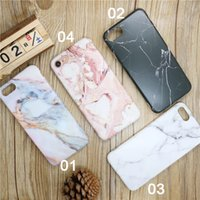 Wholesale Elegant Silicone - Elegant Marble Coque Granite TPU Soft IMD Silicone Back Cover Simple Love Couples Phone Case For iPhone 6 6S 7 7 Plus