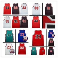 p n - 2017 sales Throwback Men R n S e P n Basketball Jersey High quality Adult male Jerseys embroidery Logos