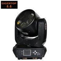 lcd contrôle de la lumière achat en gros de-Gigertop éclairage scène professionnelle 6X25W haute puissance LED blanche super faisceau mobile Head Light Écran LCD DMX 512 Control