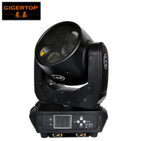Wholesale moving led display - Gigertop Professional Stage Lighting 6 PCS 25W high power White LED Super Beam Moving Head Light DMX 512 Control LCD Display