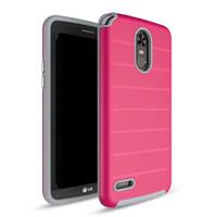 precios para samsung s5 al por mayor-Para Samsung S8 Plus S7 Edge S6 Edge S5 A estrenar Hybrid Defender Funda de teléfono Duro Colorido Cubierta Plata Oro Rosa Precio barato
