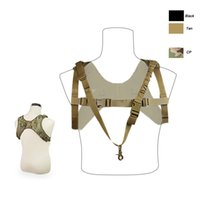 Wholesale Tactical Molle Sling - Outdoor Sports Outdoor Camouflage Body Armor Combat Assault Tactical Molle Vest Plate Carrier One Point Sling Vest NO06-021