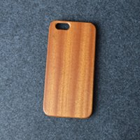 Wholesale Crafts Wholesale For Phone Cases - Wholesale Handcrafted Mobile Phone Case Fashion Sapele Wood Grain Craft eco-friendly phone case for iphone 5 5s