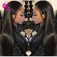 "Wholesale u 26 - 30""Long U Part Human Hair Wigs Virgin Peruvian Silky Straight U Part Wig Unprocessed Human Hair With Baby Hair For Black Women"