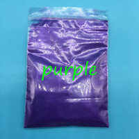 100g bag Wholesale Pearl Powder Pigment Purple Color Mica powder for maek up, pearlescent pigment For Paint&Printing Cosmetic