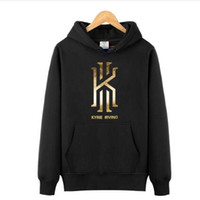 Wholesale Silver Man Cross - Kyrie Irving Men's Basketball Hoodies Sweatshirts Jumpers hip hop Sports Coats Mens Long Sleeve Pullovers killer cross over hoodies