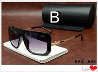 Wholesale Design Womens Sun Glasses - Semi-Rimless Ca zal Sunglasses 633 Summer New Style Vintage Mens Womens Sunglasses Brand Design Oversized Frame Men Sun glasses Cazals
