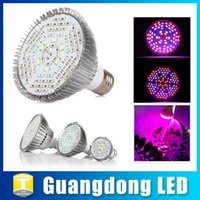 Wholesale Led Grow Lights Bulb Plant Lamp W W W E27 Full Spectrum Plant Light for Indoor Garden Greenhouse Flower Hydroponics UV IR Growing Lamp