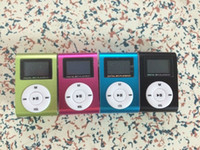 Wholesale Mp3 Player Dropshipping - Wholesale- Free shipping!!! Dropshipping! Mini Clip MP3 Player With Screen support TF card up to 32GB