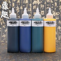 Wholesale Tattoo Ink Kits For Sale - Wholesale- 8oz 8 Color Dynamic Tattoo Ink for Tattoo Kits Liner&Shader Tattoo Pigment Hot Sale Ink INK206