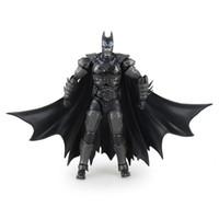 Wholesale Batman Figure Hot - New hot sale anime figure toy Injustice League SHFiguarts BatMan 17CM gift for children free shipping