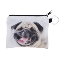 Wholesale Hop Storage - Wholesale Promotion 3D Dog Animal Prints Mini Coin Bags Women Storage Pouch Cute Dog Wallets Kids Coin Purses