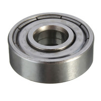 Wholesale 10pcs ZZ x22x7 D printer Miniature Radial Bearings Deep Groove Ball Bearings Skateboard Scooter Roller Wheels