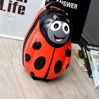 Wholesale dhl D stereo hot Cute Luggage For inch Trolley Suitcase Bag Child Cartoon Travel bags for children gift