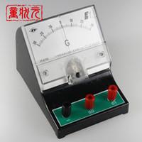 Wholesale Electromagnetic Equipment - Wholesale-Sensitive Galvanometer G Ammeter Electromagnetic Induction Experiment Microammeter Physics Laboratory Equipment M-1221