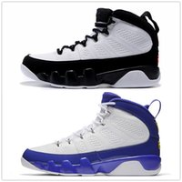 Wholesale b player - 9s Classic 9 basketball shoes Tour Yellow white Space jam black blue High Top Shoes Player Edition Versio