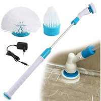 Wholesale New Electric Spin Scrub Brush Scrubber Rechargeable Turbo Scrubber Automatic Cleaning Scrubber Head Sets for Multi Purpose