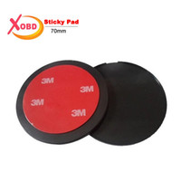 Wholesale Disc Pad Holders - Wholesale- car Universal 3M VHB Round Disc Sticky Pad Car Camera GPS Mobile Phone Dashboard Desk Glue Stand Mount Holder 70mm Diameter