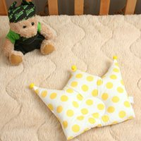 Wholesale Handmade Crown Baby - Naomi Ito POCHO crown baby pillow infant handmade cotton pillow dot keep baby right sleeping posture 0-2 years old
