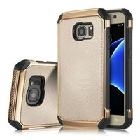 Wholesale Galaxy Wave Case - For iPhone 6 6 Plus Samsung Galaxy S7 Edge Wave Point Pattern Case Electroplate Plating Protection Back Cover OPPBAG