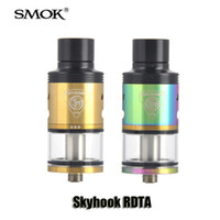Wholesale Control Floats - 100% Original SMOK Skyhook RDTA Tank 5ml 24.5mm Diameter Floating Velocity Post Airflow Control Atomizer For 510 Thread Mod
