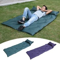 Wholesale Folding Foam Beds - Hot! Foldable Folding Sleeping Mattress Mat Pad Waterproof Outdoor Camping Mat Inflatable Mattress Soft Inflatable Bed