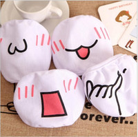 Wholesale Cute Mouth Masks - Cute Kawaii Anime Kaomoji-kun Emotiction mouth-muffle Winter Cotton Funny Mouth Anti-Dust Face Masks