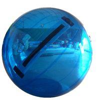 cremallera para bola de agua al por mayor-Fuerte PVC Walking Ball Clear Water Walker Inflable Zorb Balls Colored Germany Tizip Zipper 1.5m 2m 2.5m 3m con entrega gratuita