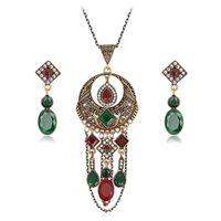 Wholesale Wholesale Statement Necklace China - 2017 newAcrylic Statement weddomg Necklace Earrings Jewelry Sets Choker Collar Fashion Jewelry 2017 News For Women