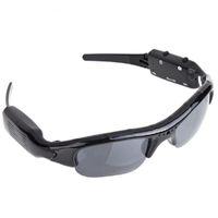 gafas de sol al por mayor-720 P Sunglass Exclusivo Digital Audio Video mini cámara DV DVR Gafas de sol camo Sport Grabadora de la videocámara Para Deportes Envío gratis