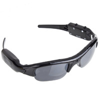 720P Sunglass Exclusivo Digital Audio Video mini Camera DV DVR Óculos de sol camo Sport Camcorder Recorder For Sports Frete grátis