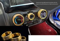 Wholesale Color Changing Fan - Honda new front fan XRV air conditioning knob modified special new front fan air conditioning sound knob new front fan decorative ring