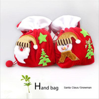 Wholesale Professional Santa Bag Christmas Bag VANORIG Cute Christmas Gift Bag Santa Sack high quality fabric to decorate