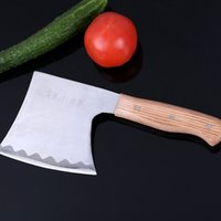 Wholesale Multi Axe - Kitchen Chop knife stainless steel knife chopping axe Hunting Camping Fire Axe Tool Mountain-cutting Hatchet best gifts kitchen accessories