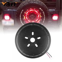 spare cover jeep - Spare Tire Cover LED Third Brake Light for Jeep Wrangler JK JKU Unlimited Rubicon Sahara X Off Road