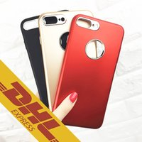 Hight Quality Soft + TPU para Samsung S8 / S8 Plus Estuche para Iphone 6s Plus 7 Plus Paquete completo Estuche protector de superficie mate