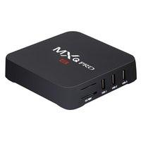 Wholesale Africa Box - MXQ PRO android6.0 5.1 tv box mxq 4k QHDTV iptv 1year subscription full europe channels arabic french sky UK italia africa