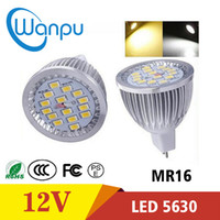 Wholesale mr16 7w led bulbs for sale - Group buy LED Spotlight Bulbs W MR16 COB Lamp Super Bright GU10 LED Bulb Spot Light Lamp SMWarm white Cool white led spot lighting AC85 V