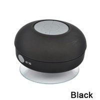 base de altavoz del teléfono al por mayor-Al por mayor- BTS-06 Blutooth portátil Boombox Subwoofer ducha impermeable Mini altavoz inalámbrico Bluetooth Music Audio Receiver teléfono Hoparlor