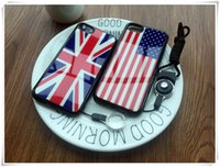 Wholesale Iphone Uk Flag - American Flag UK Flag printing Soft protective case for iPhone 6 6s 6s Plus 7 7 Plus