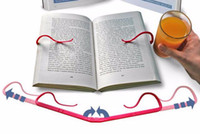 Wholesale Read Bookmarks - Portable Lazy Leisure Decorative Bookends Book Marks Bookmark For Books Stand Reading Book Holder Home School Supplies