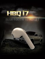 For Motorola blackberry systems - HBQ i7 Bluetooth Headset Wireless Mini Apple Earphone Single Ear Stereo Use Andrews Flat iphone system can be customized LOGO