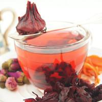 Wholesale Detox Herbal Teas - 500g Hisbicus Flower Tea Detox Drink Healthy Magic Slimming Roselle Flower Tea Blood Red Flower Best Chinese Safe Herbal Tea