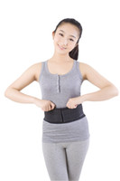 Wholesale Lumbar Supports Wholesale - Wholesale- Lumbar Support Belt Back Braces Breathable Waist Treatment of Lumbar Disc Herniation Lumber Muscle Strain waist support belt