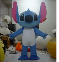 Wholesale Lilo Stitch Mascot - Stitch of Lilo & Stitch Mascot Costume Halloween Party Dress Outfit