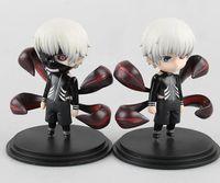 ingrosso action figures ken-Calda Ken Kaneki Figura Tokyo Ghoul Kaneki Ken Action PVC Figure Toy Da Collezione Model Doll Toys Con Box 10cm 2styles / set