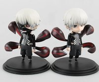 tokyo ghoul spielzeug großhandel-Heiße Ken Kaneki Figur Tokyo Ghoul Kaneki Ken PVC Action Figure Spielzeug Sammeln Modell Puppe Spielzeug Mit Box 10 cm 2 stile / set