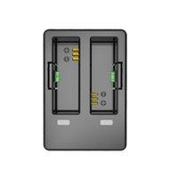 Wholesale desktop battery charger - Wholesale- Original SJCAM Accessories Travel Desktop Charger Dual Slot Battery Charger for SJCAM SJ7 Star Sports Action Camera