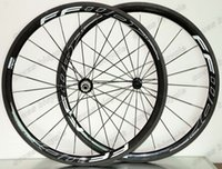 Wholesale Novatec Hub Wheelset - Free shipping 25mm width with Novatec A271SB F372SB hubs 38mm depth clincher carbon wheelset 700C road bike full carbon wheels