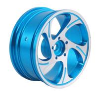 Wholesale Blue Drift Tires - RC Rim 131 Blue Aluminum Wheel 52mm For HSP Sakura HPI 1:10 On-Road Drift Car